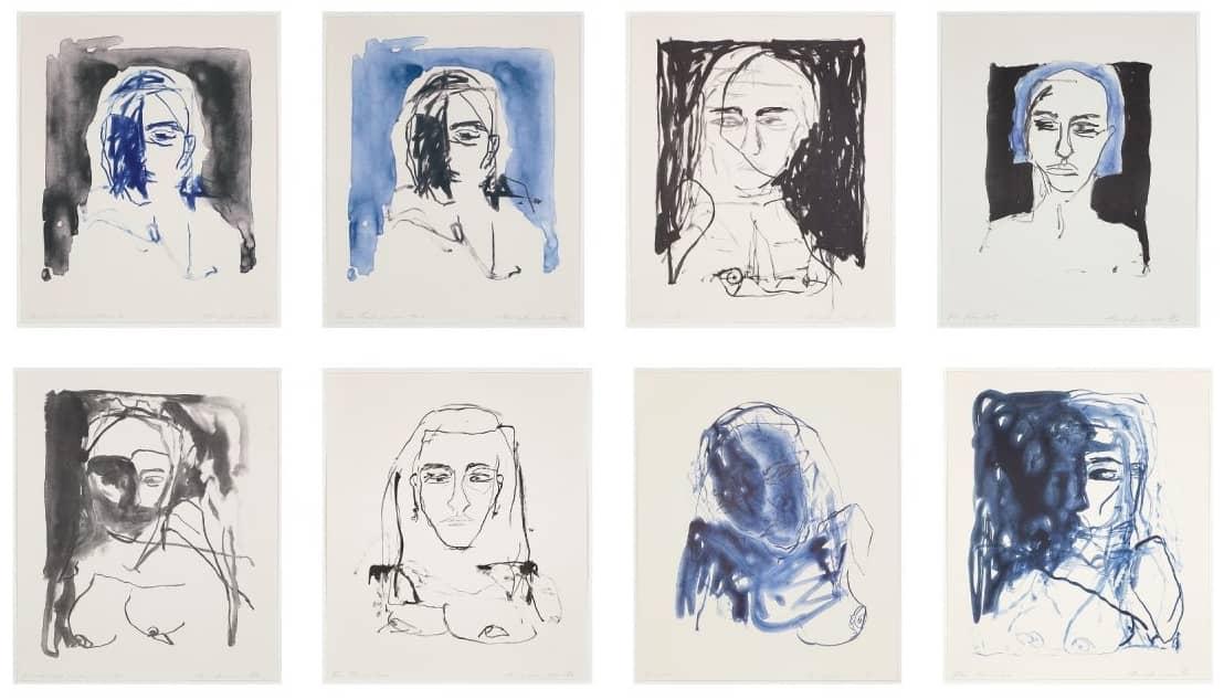 Tracey Emin These Feelings were true Portfolio, Lithographie, signiert, nummeriert, Auflage 50