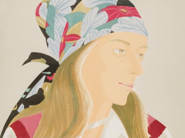 Alex Katz Anne, Lithographie, signiert, nummeriert, Auflage 83 Stück