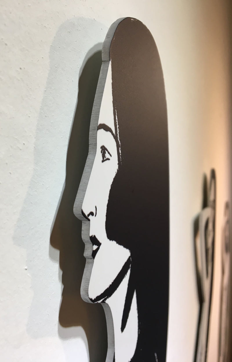 Alex Katz Cutout Ariel Detail