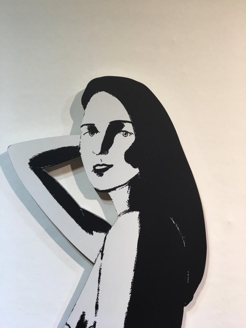 Alex Katz Kunstwerk Ariel Detail