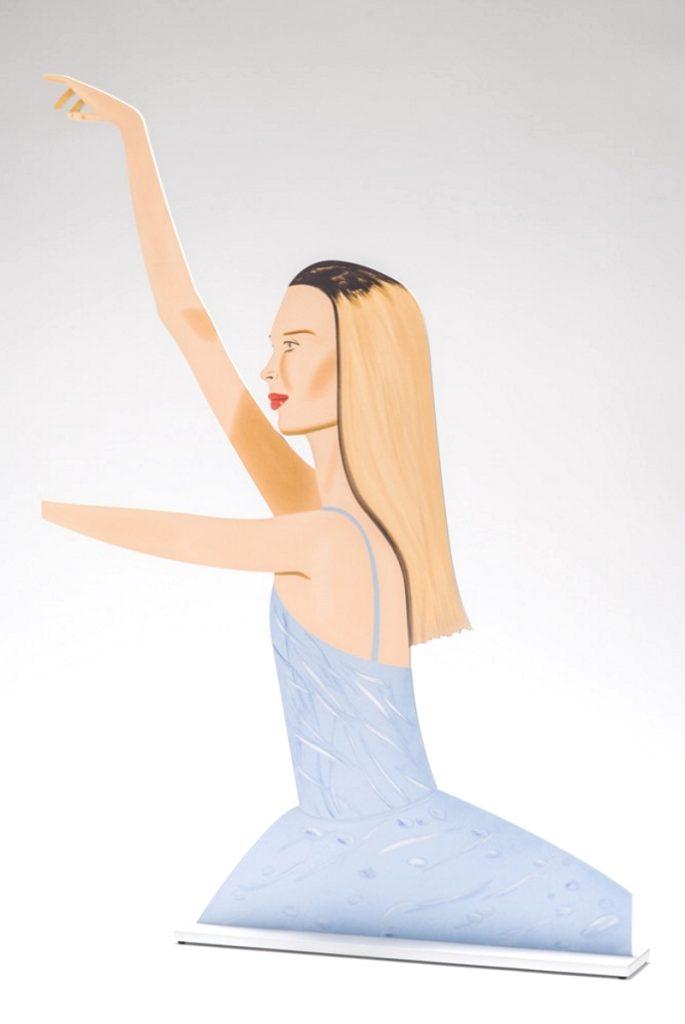 alex katz dancer 2 cutout perspective