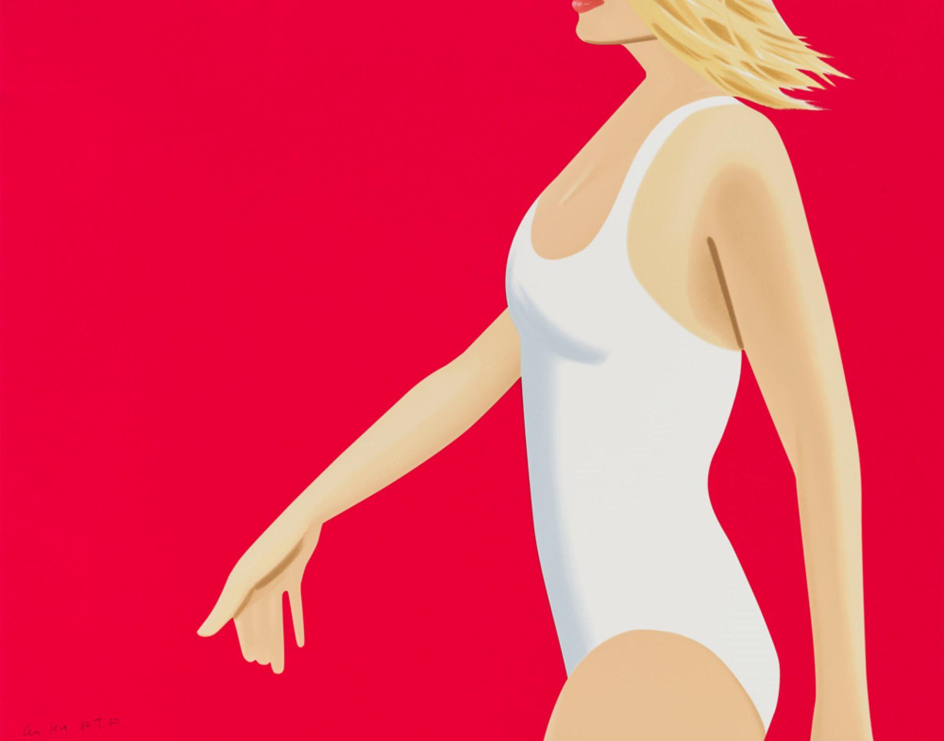 Kunstwerk Coca Cola Girl 1 des Künstlers Alex Katz kaufen