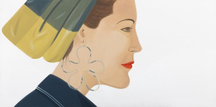 Alex Katz Ursula, Holzschnitt, signiert, nummeriert, Auflage 100 Stück