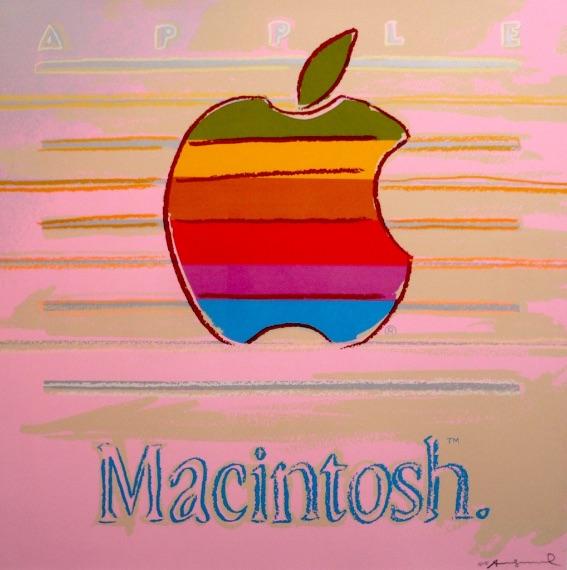Andy Warhol Apple Macintosh FS II.359, Siebdruck, signiert, Auflage 190 Stück