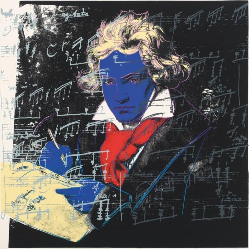 Andy Warhol Beethoven
