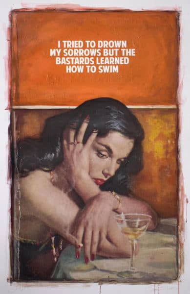 The Connor Brothers Pulp Fiction Series - Drowned Sorrows, Druck, signiert, nummeriert, Auflage 3 Stück