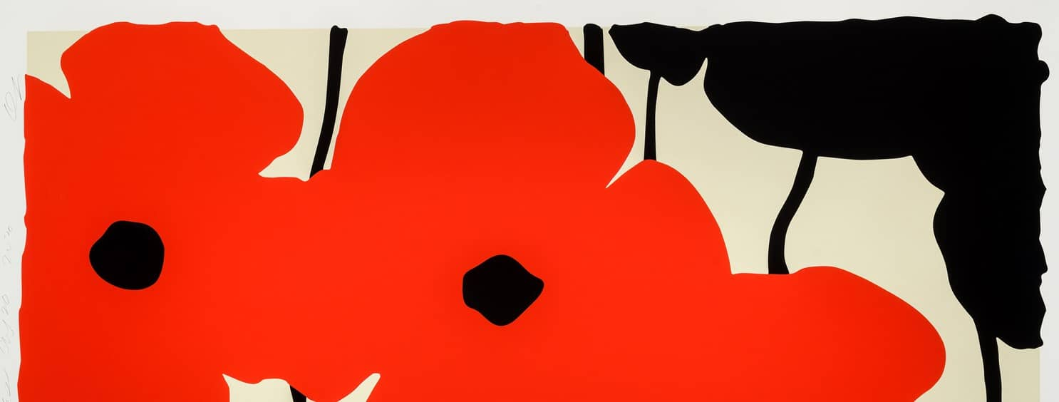 Donald Sultan Red Poppies Header
