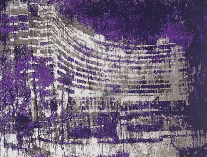 Enoc Perez Fontainebleau Miami, Siebdruck, signiert, nummeriert, Auflage 50 Stück