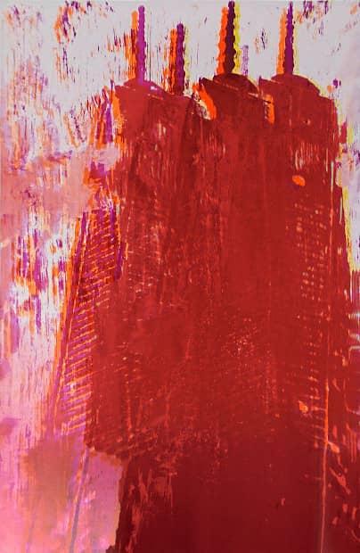 Enoc Perez Freedom Tower 3, Lithographie, signiert, nummeriert, Auflage 15 Stück