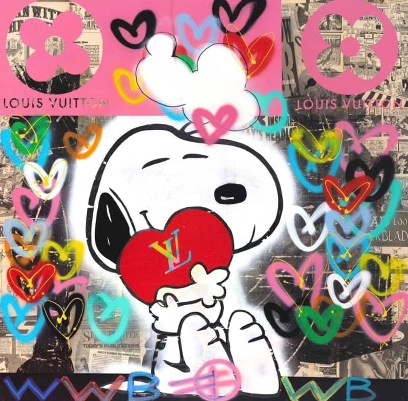 Fringe Snoopy Loves LV Edition