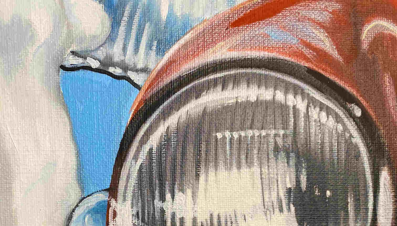 Heiner Meyer Painting Porsche Header