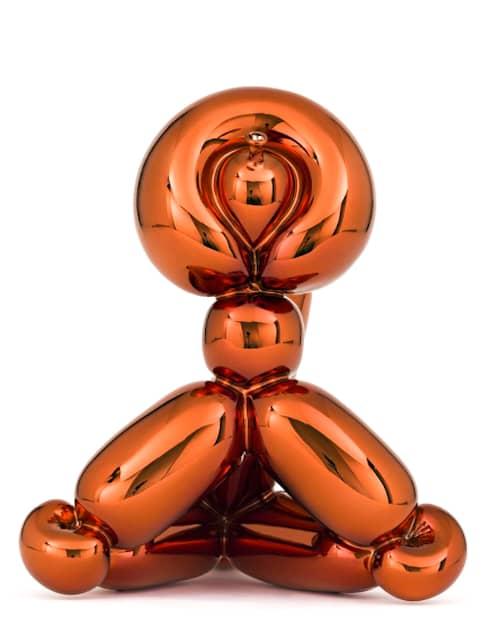 Jeff Koons, Balloon Monkey orange, Skulptur
