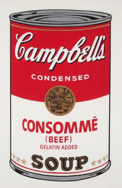 Campell's Soup von Andy Warhol kaufen