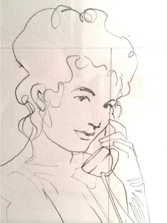 Artwork Mel Ramos Hello Dolly Detail