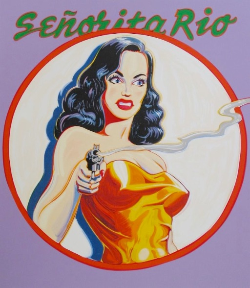Mel Ramos Senorita Rio, 2000, Lithografie, signiert, nummeriert, Auflage 199 Stück