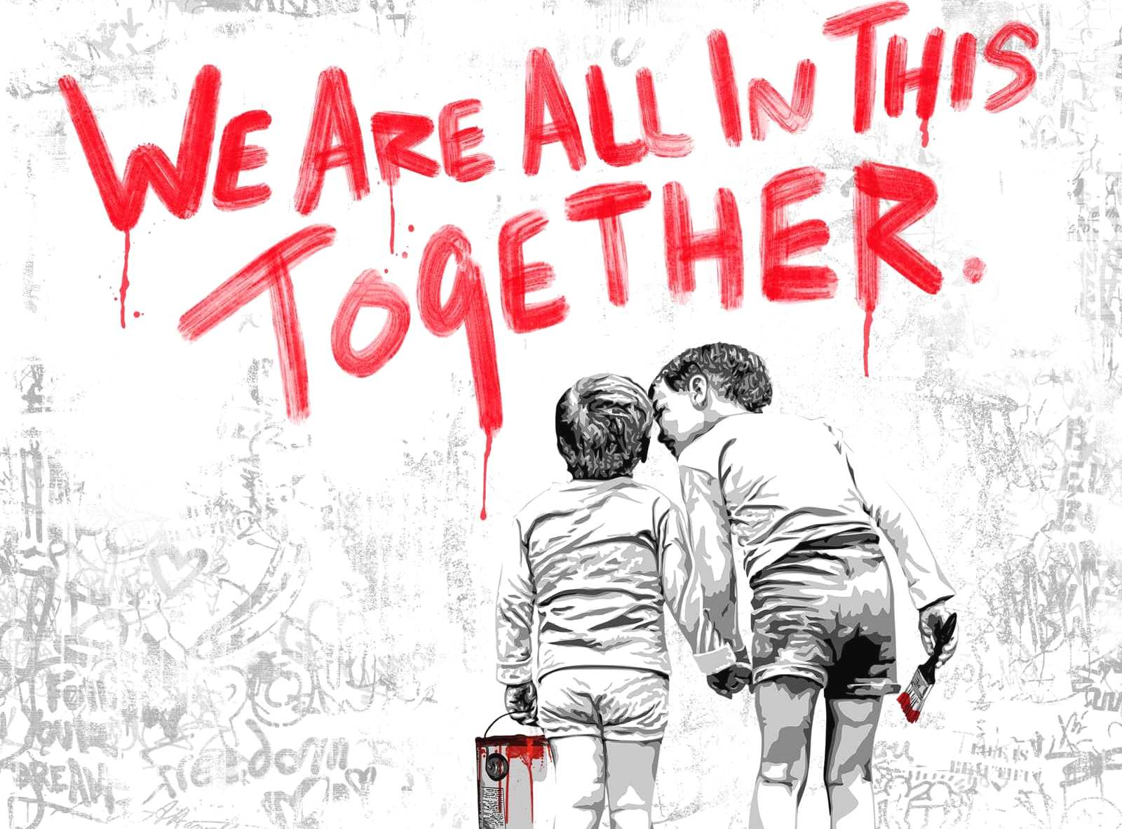 Mr. Branwash We are all in this together Header