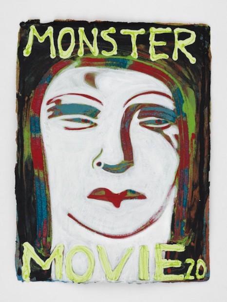 Nicole Eisenman Monster Movie, Ditone Print, signiert, nummeriert, Auflage 100 Stück