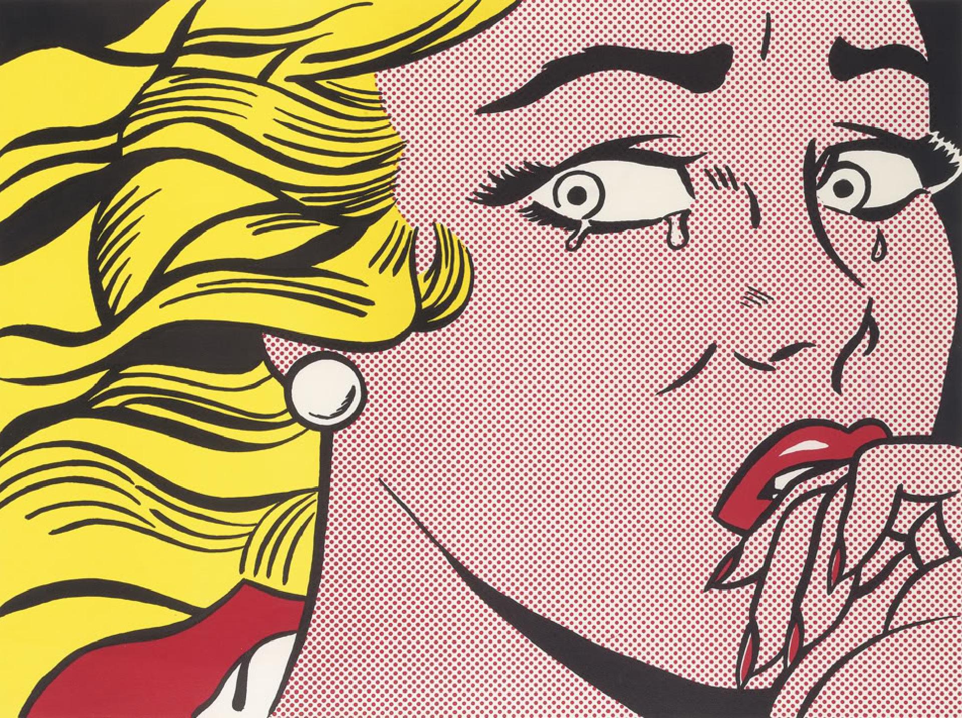 Kunstwerk Crying Girl des Künstlers Roy Lichtenstein kaufen