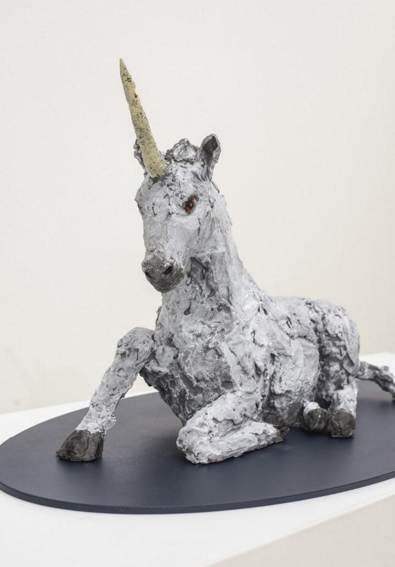 Stephan Balkenhol Einhorn Skulptur Kunstwerk