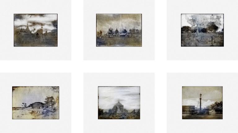 Thomas Ruff Tripe ( Set of six ), Digitaler Pigmentdruck ( Ditone ), signiert, nummeriert, Auflage 33 Stück