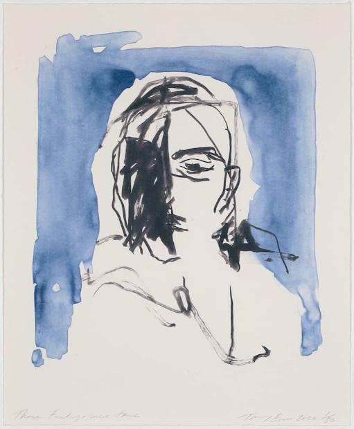 Tracey Emin These Feelings were true, Lithographie, signiert, nummeriert, Auflage 50