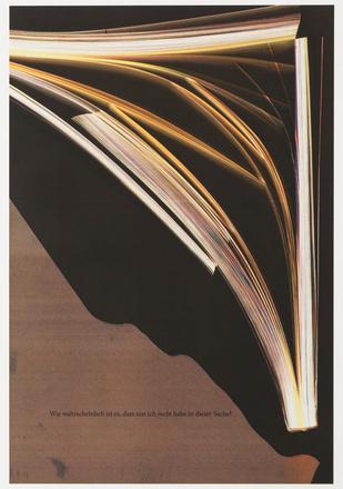 Wolfgang Tillmans Ohne Titel, Tintenstrahldruck, signiert, nummeriert, Auflage 100 Stück