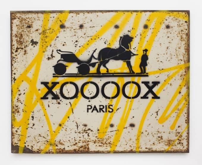 XOOOOX Hermes Stahl Kunstwerk